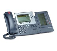 Комплект: SIP-телефон CISCO IP Phone CP-7960G + консоль CP-7914 + подставка CP-SINGLFOOTSTAND