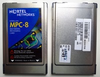 NTRH01AAE5 NORTEL NETWORKS MPC-8 Multimedia Processing Cards PCMCIA NTRH01AA